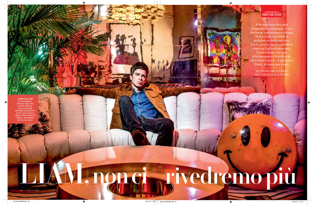 Vanity Fair: Noel Gallagher interview