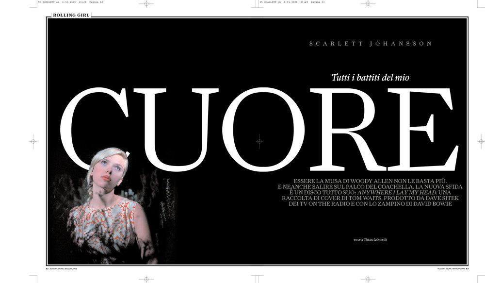 Rolling Stone magazine: Scarlett Johansson interview