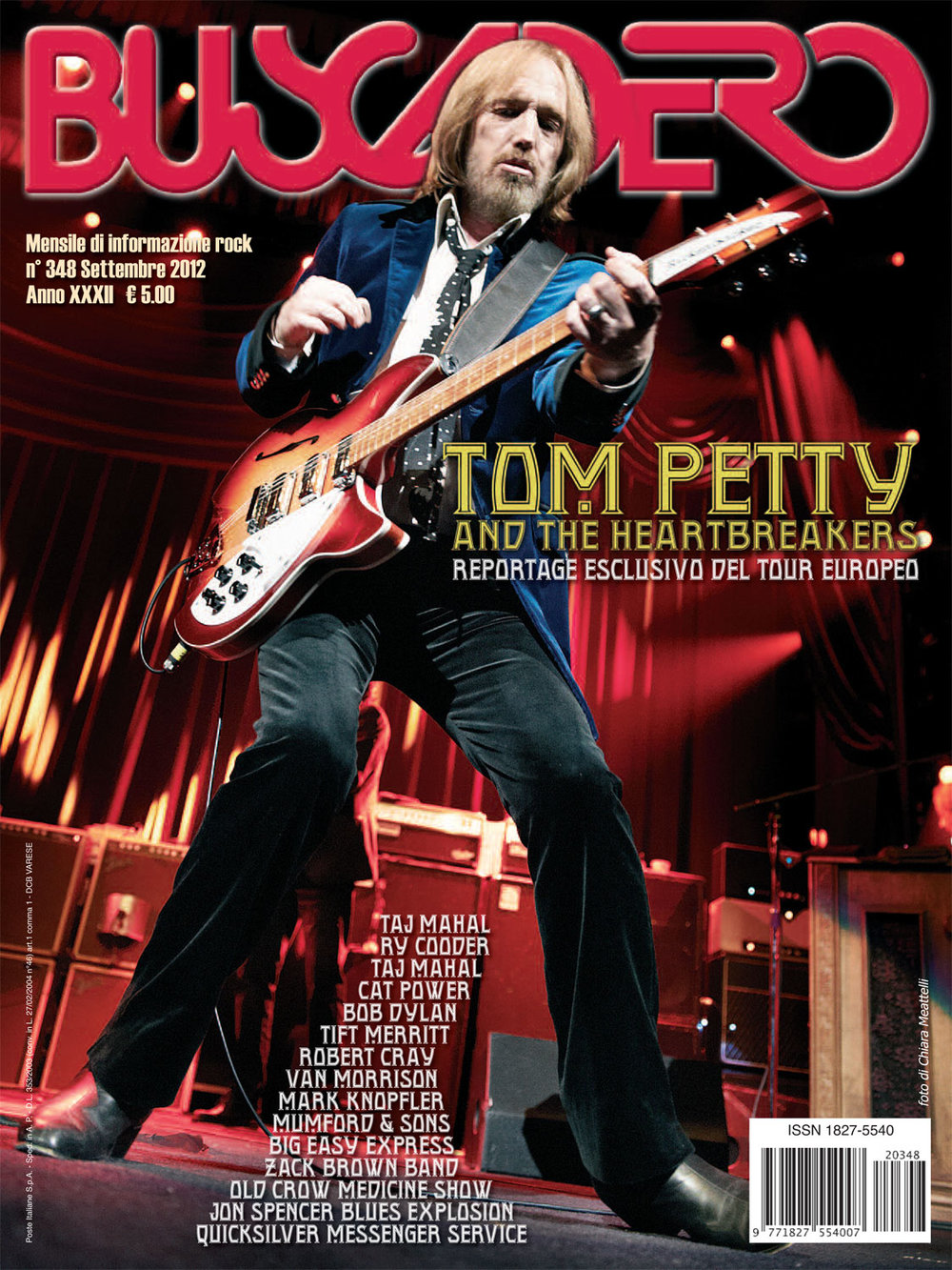 Buscadero: Tom Petty cover photo