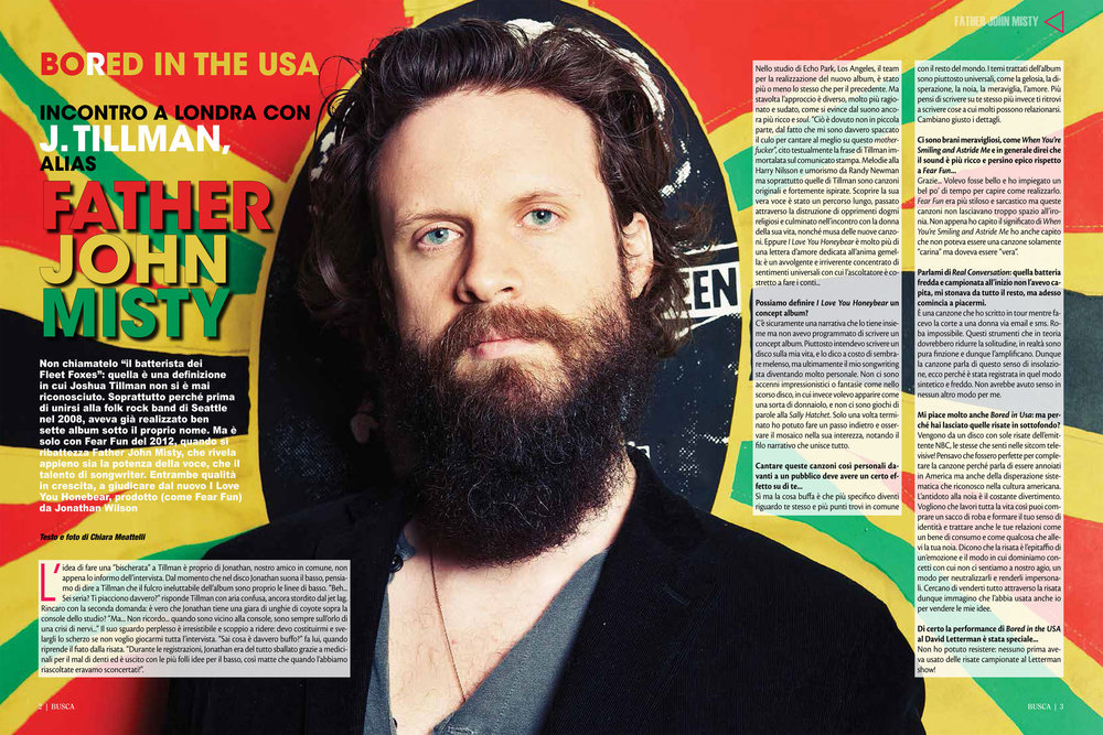 Buscadero: Father John Misty interview & photos