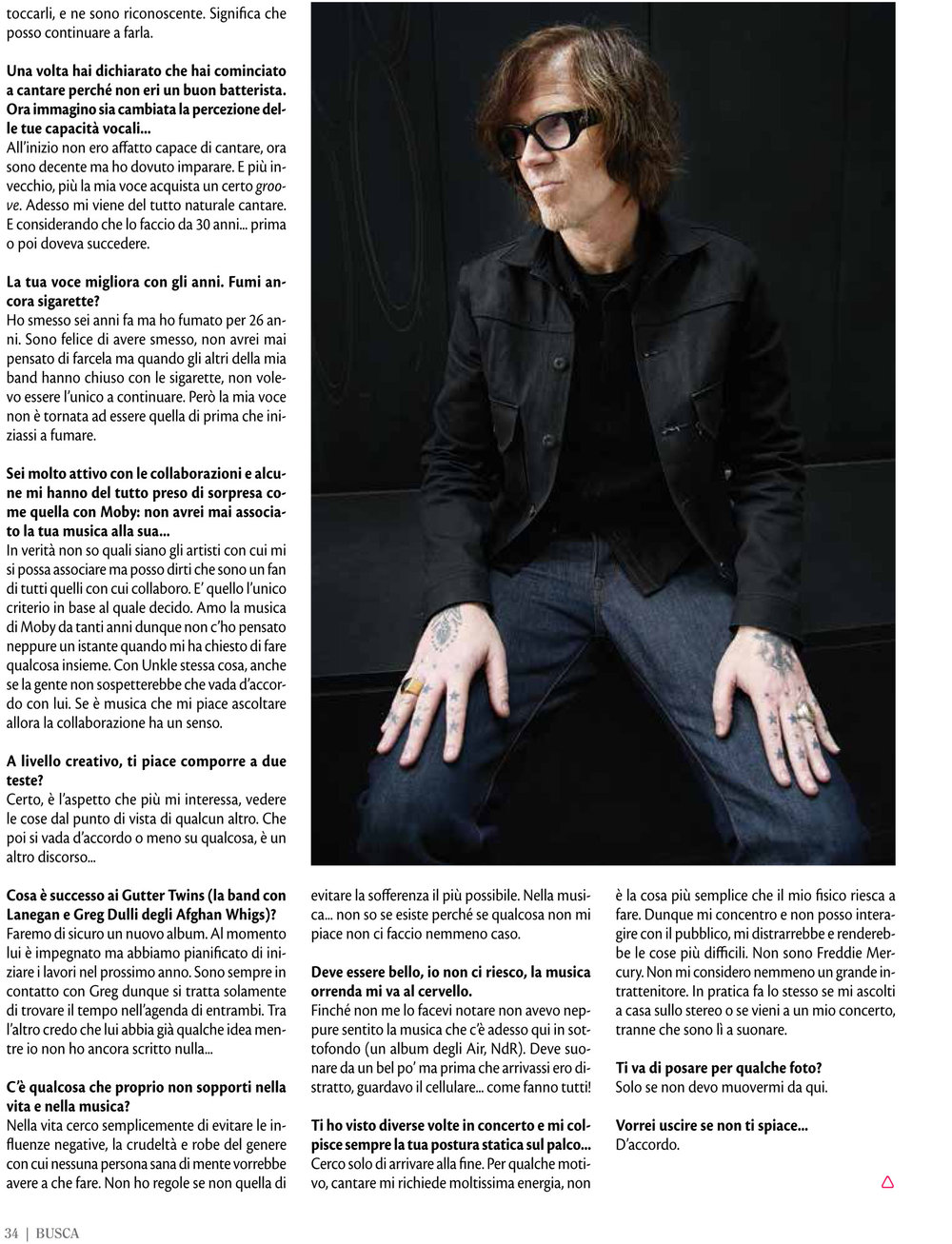 Buscadero: Mark Lanegan interview & photo