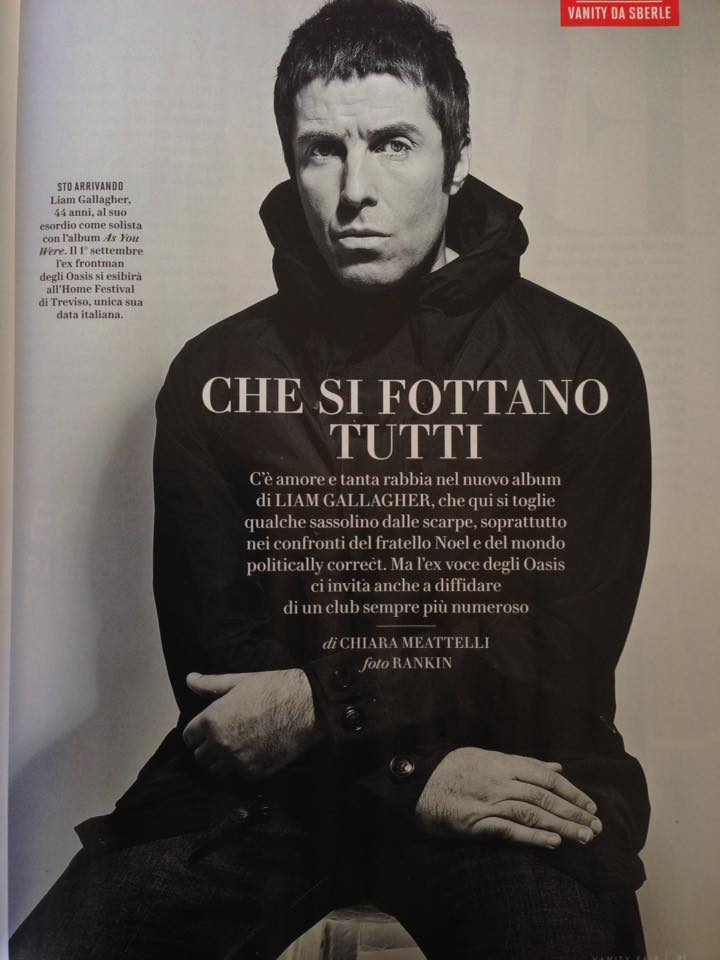 Vanity Fair: Liam Gallagher interview
