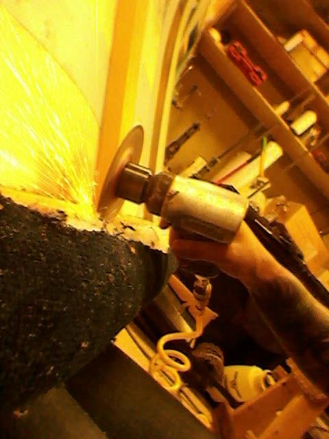Working at The Upholstery Shop in Saint Paul September 5th 2012