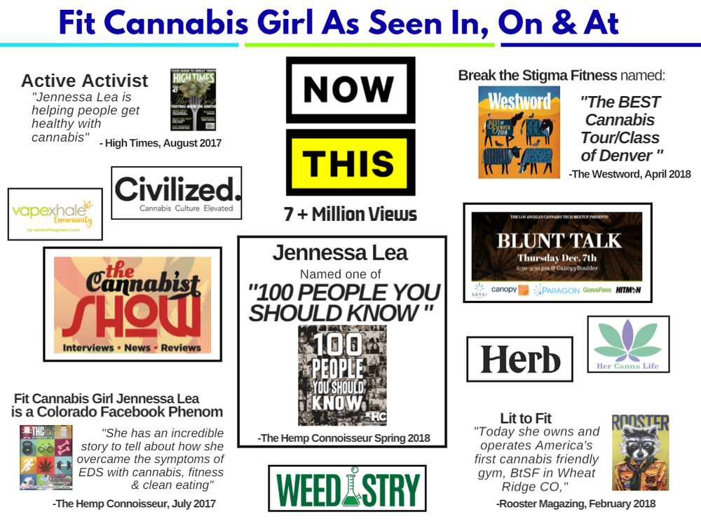 Media Page from my marketing and advertising deck. Check out my media page for more info!