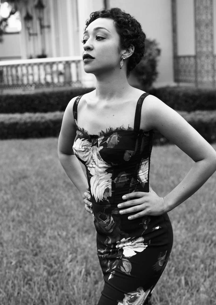RUTH NEGGA by Victor DeMarchelier