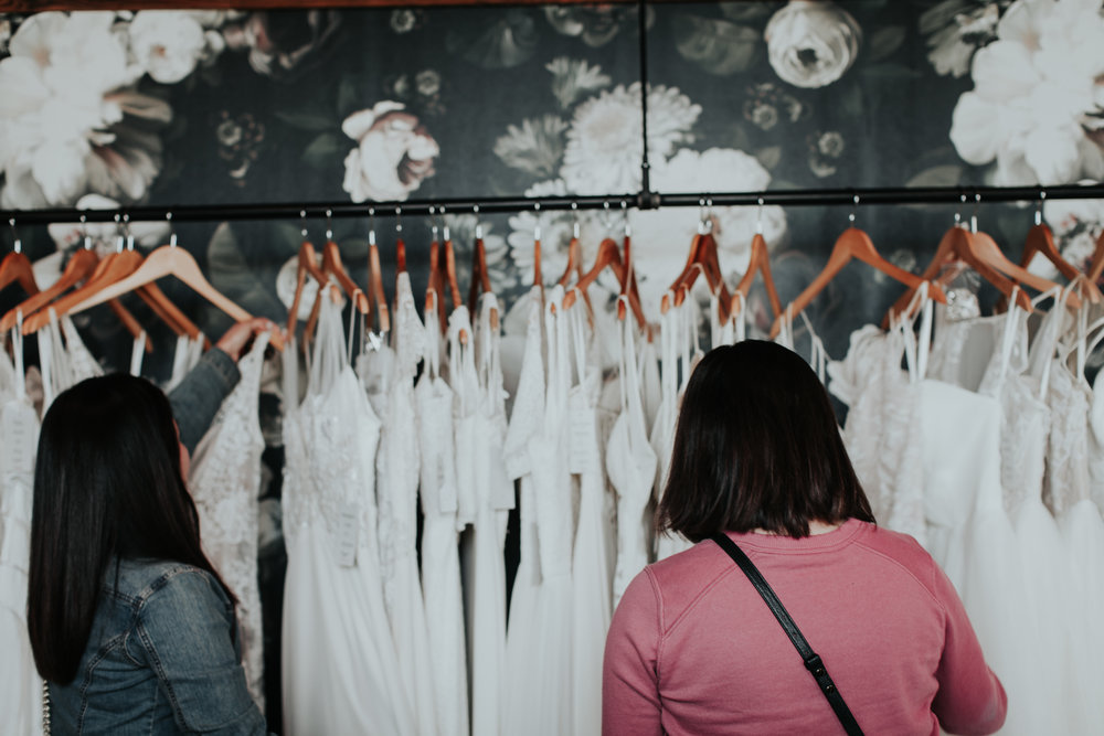 3. Choose Your Companion(s) Carefully - Because sample sales tend to get overcrowded, don't bring an entire posse with you. We recommend asking one trustworthy friend or family member to tag along. Photo credit: Alexandra Wallace