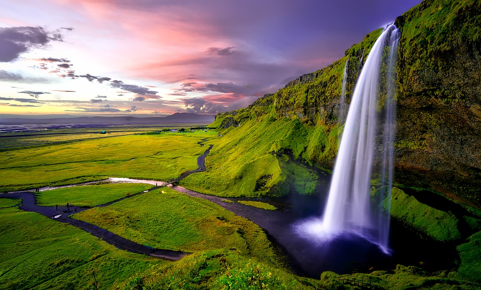 Sunset-Dusk-Iceland-Sky-Mountains-Falls-Waterfall-1751463.jpg