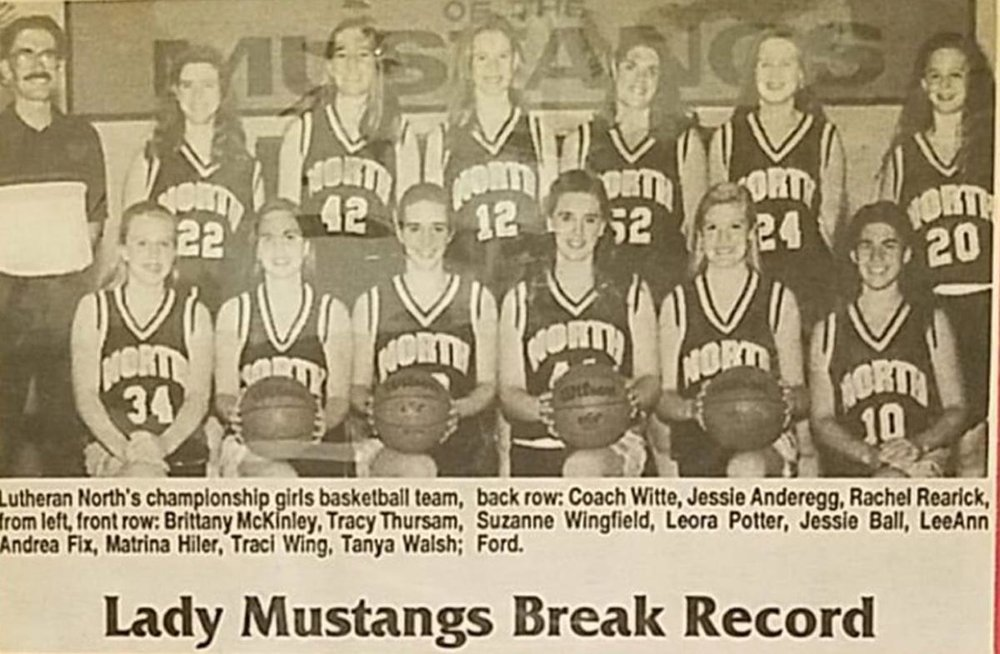 Macomb Daily - Lutheran North 1993 Girls Basketball Team Michigan 1.jpg
