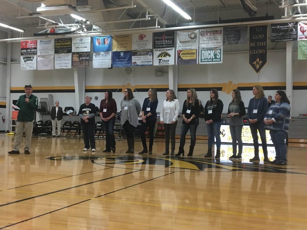 The Lutheran North girls' basketball team went 25-1 in 1993. Their only loss came in the Class B quarterfinals to eventual state champion Divine Child.