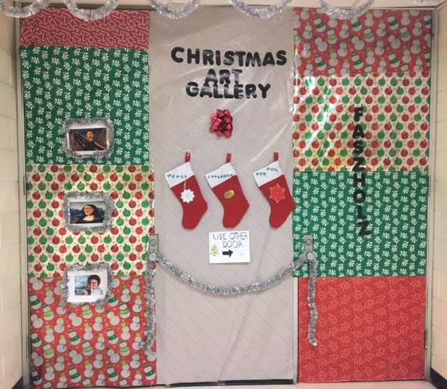 8. Christmas Art Gallery