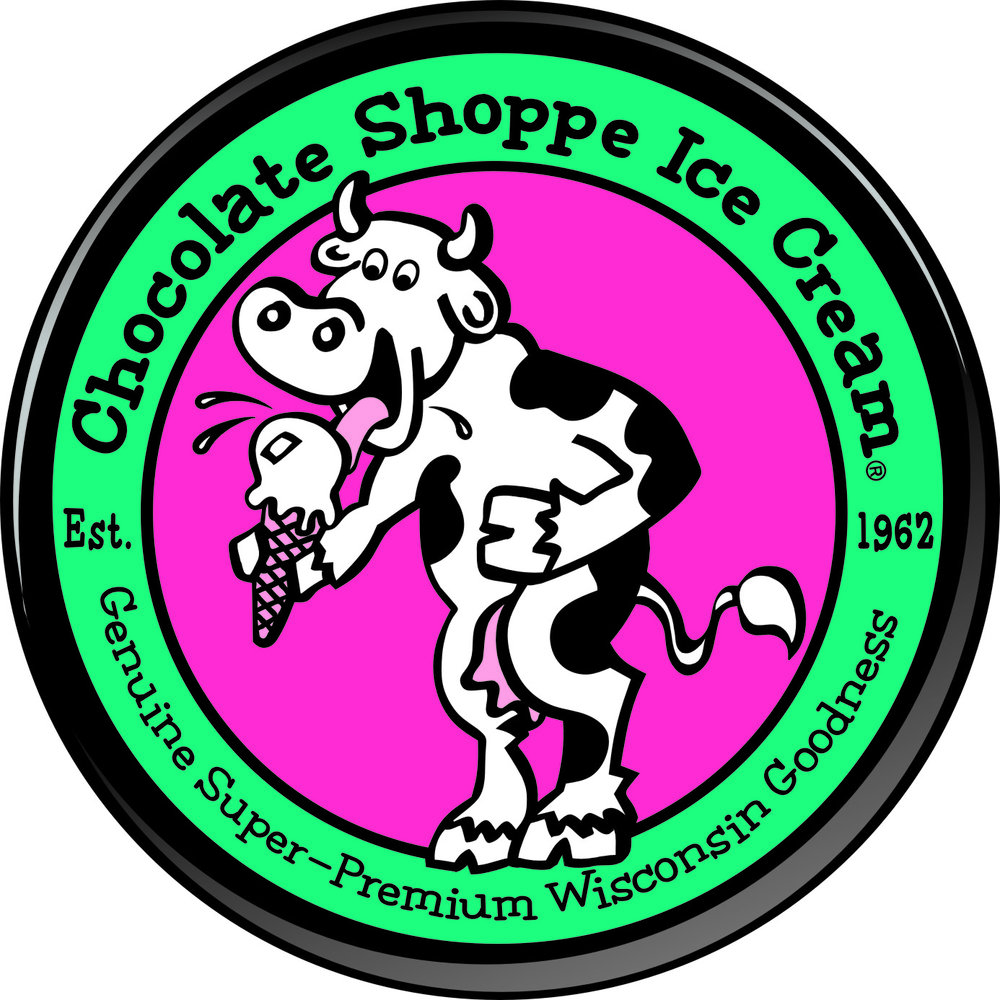 "Chocolate Shoppe Ice Cream   Super premium ice cream made in Madison, Wisconsin. ""You want nutrition? Eat carrots."""