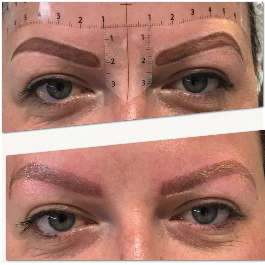- Device Brows, Digital Brows, Nano Brows, Hairstroke brows.. it's all the same!Using a hand held digital tattoo machine each hairstroke is added to the brow. The difference to this and microblading is that the machine penetrates the colour deeper and is better for oilier or mature skins.Combination Brows use hair strokes with some shading incorporated.Results last approx 18-24+ months.Who is it best suited to?- Oily or mature skin complexions- Those who want a realistic brow type- Those with sparse brows from over plucking- Alopecia or Chemotherapy patients- Those who want to long lasting results