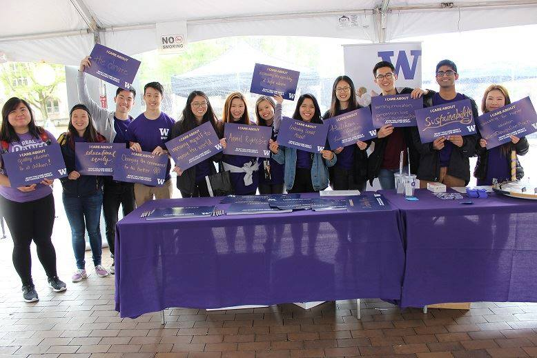 Students from the Student Philanthropy Education Program at UW