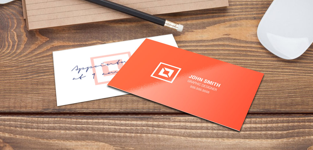 14pt Writable + UV (C1S) Business Cards