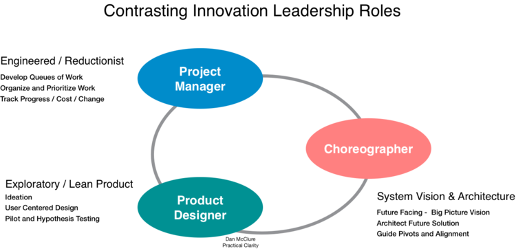 Choreographer And Innovation Leadership Types