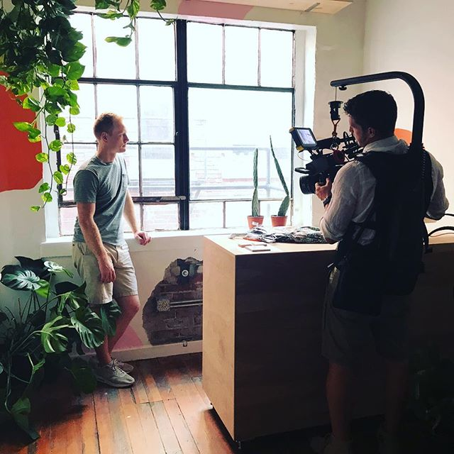 Edward standing in for a shot on an upcoming documentary by our talented team member @feral_black_cat.  #alexa #documentary #shortfilm