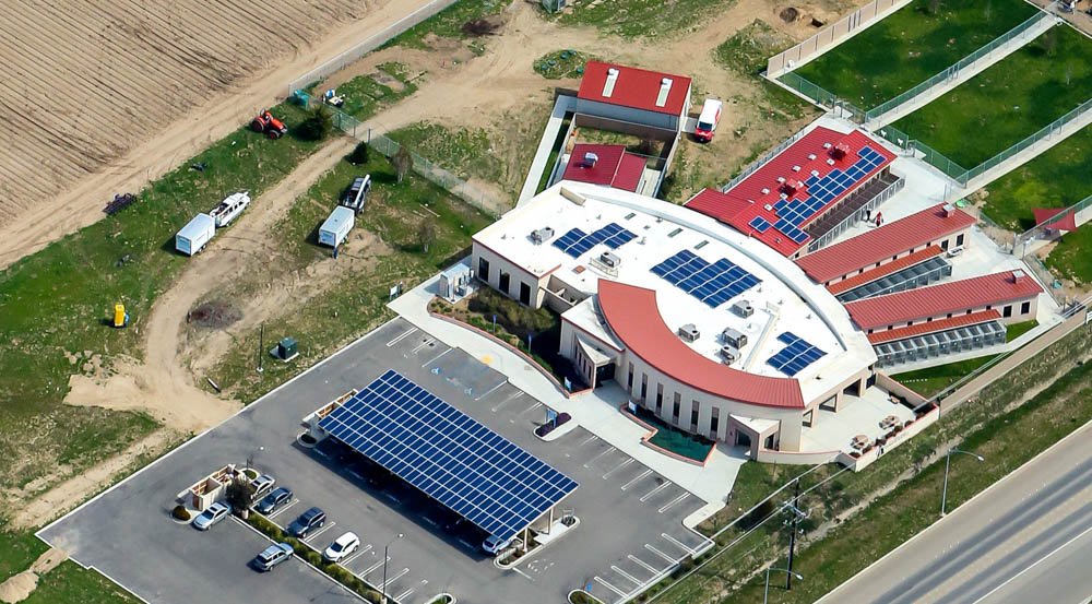 Animal Shelter California | 87 KW Photo Courtesy of Sunworks