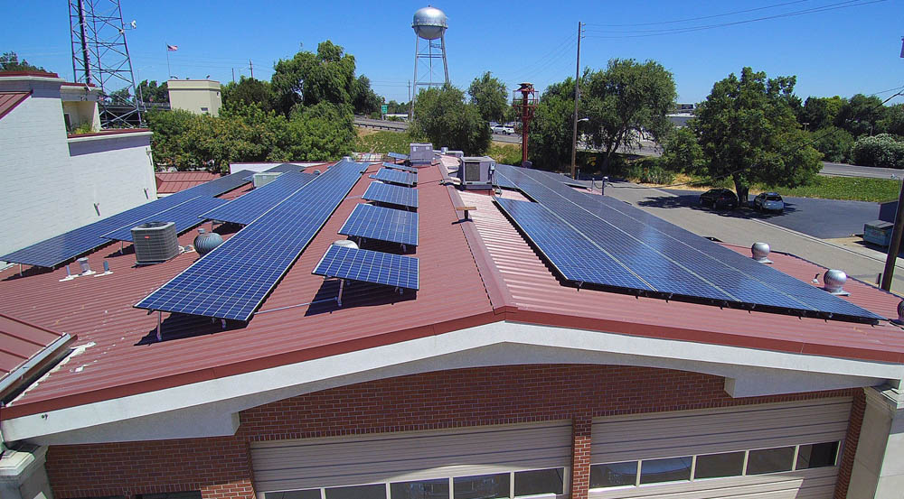 Fire Department California | 57 KW Developed by Velocity Solar