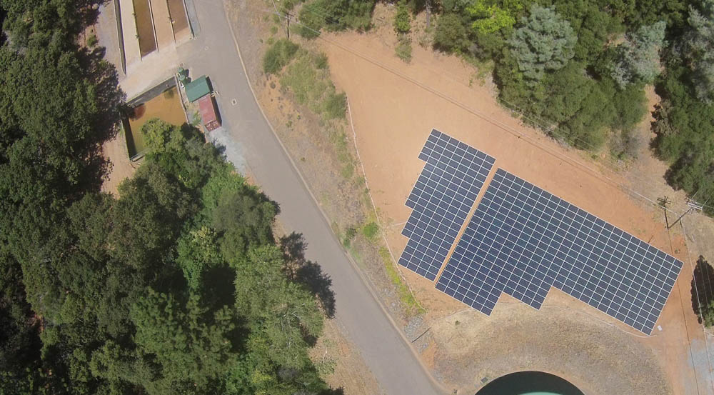 Water District California | 154 KW Developed by Valley Solar
