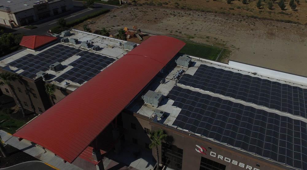 House of Worship California | 168 KW Developed by Kurios Energy