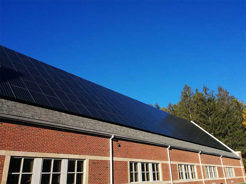 Private School Massachusetts | 116 KW Developed by New England Clean Energy