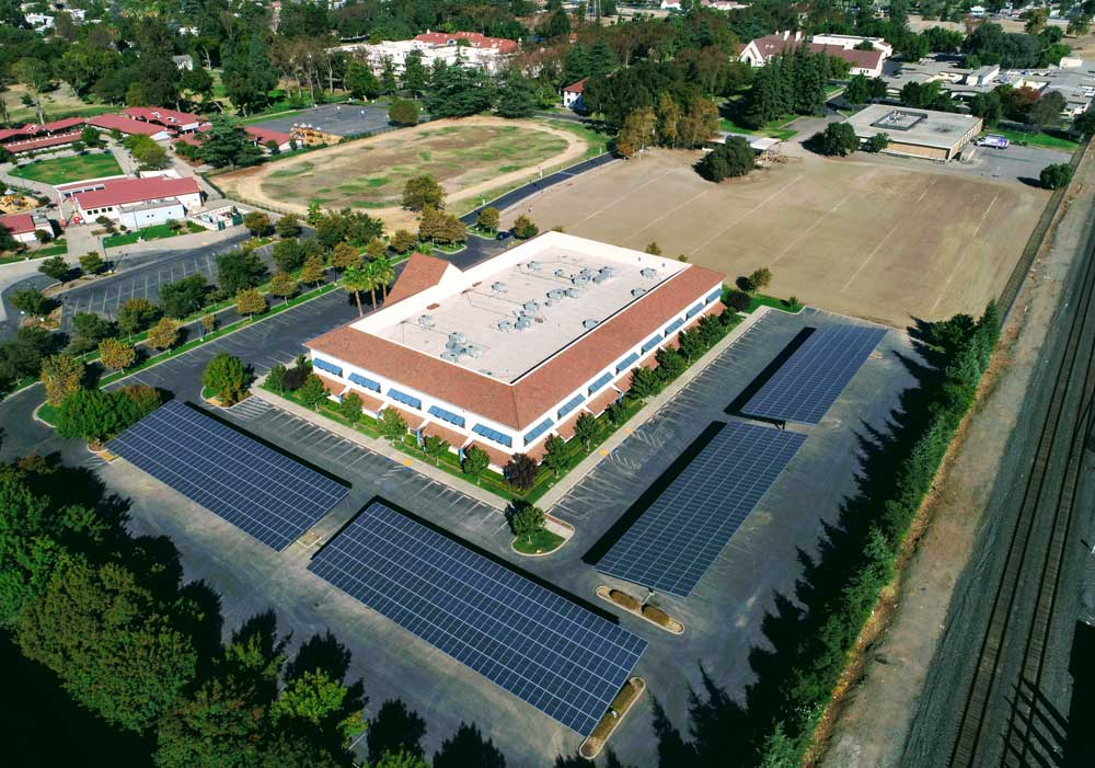 Community Services Provider California | 322 KW Developed by  Vista Solar