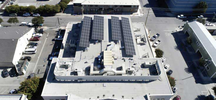 Government Customer California | 66 KW Developed by  Vista Solar