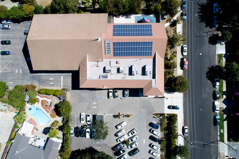 House of Worship California | 33 kW Developed by  Vista Solar