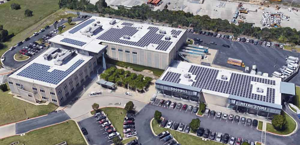 Goodwill Industries Texas | 520 kW (2 sites)