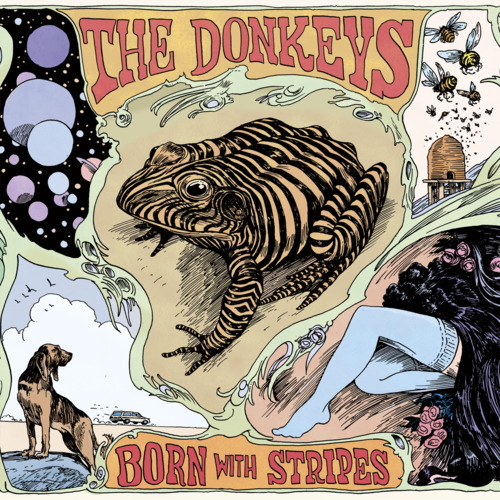 THE DONKEYS Born With Stripes, 2011, self produced, 45:39