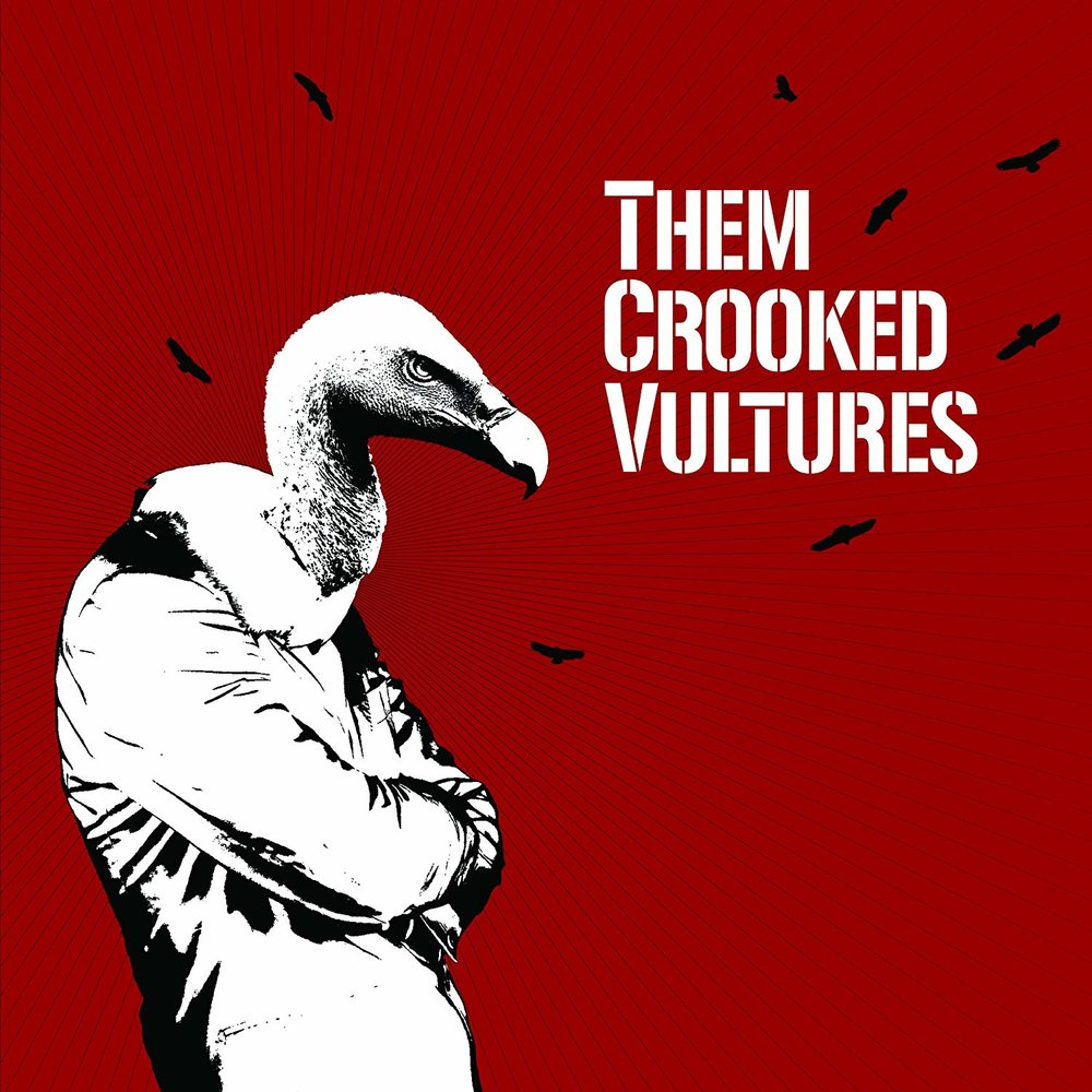 THEM CROOKED VULTURES   Them Crooked Vultures, 2009, Self-Produced, 66:22