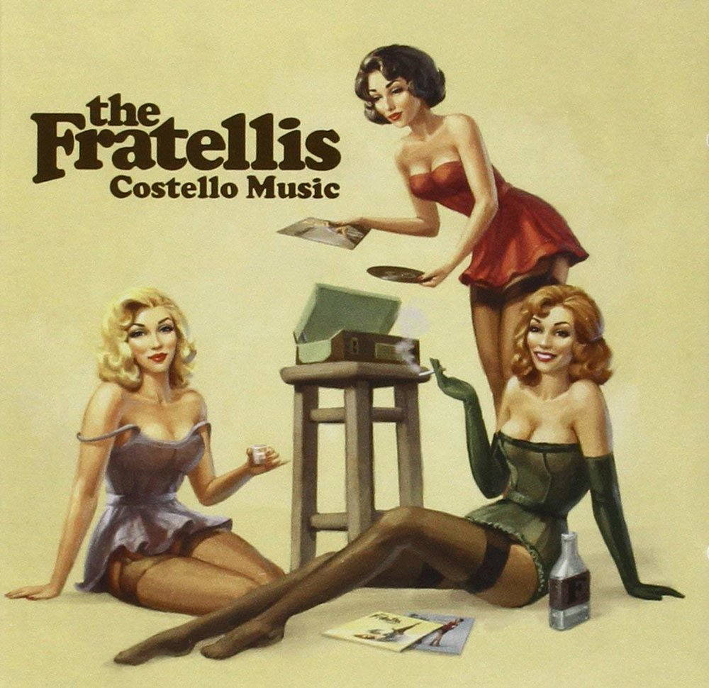 THE FRATELLIS   Costello Music, 2006, Tony Hoffer, 44:16