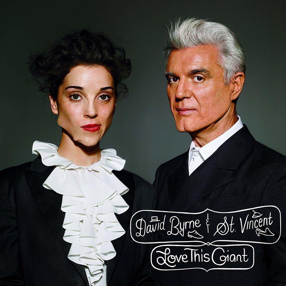 DAVID BYRNE & ST. VINCENT   Love This GIant, 2012, Annie Clark, Patrick Dillett, & John Congleton, 44:33