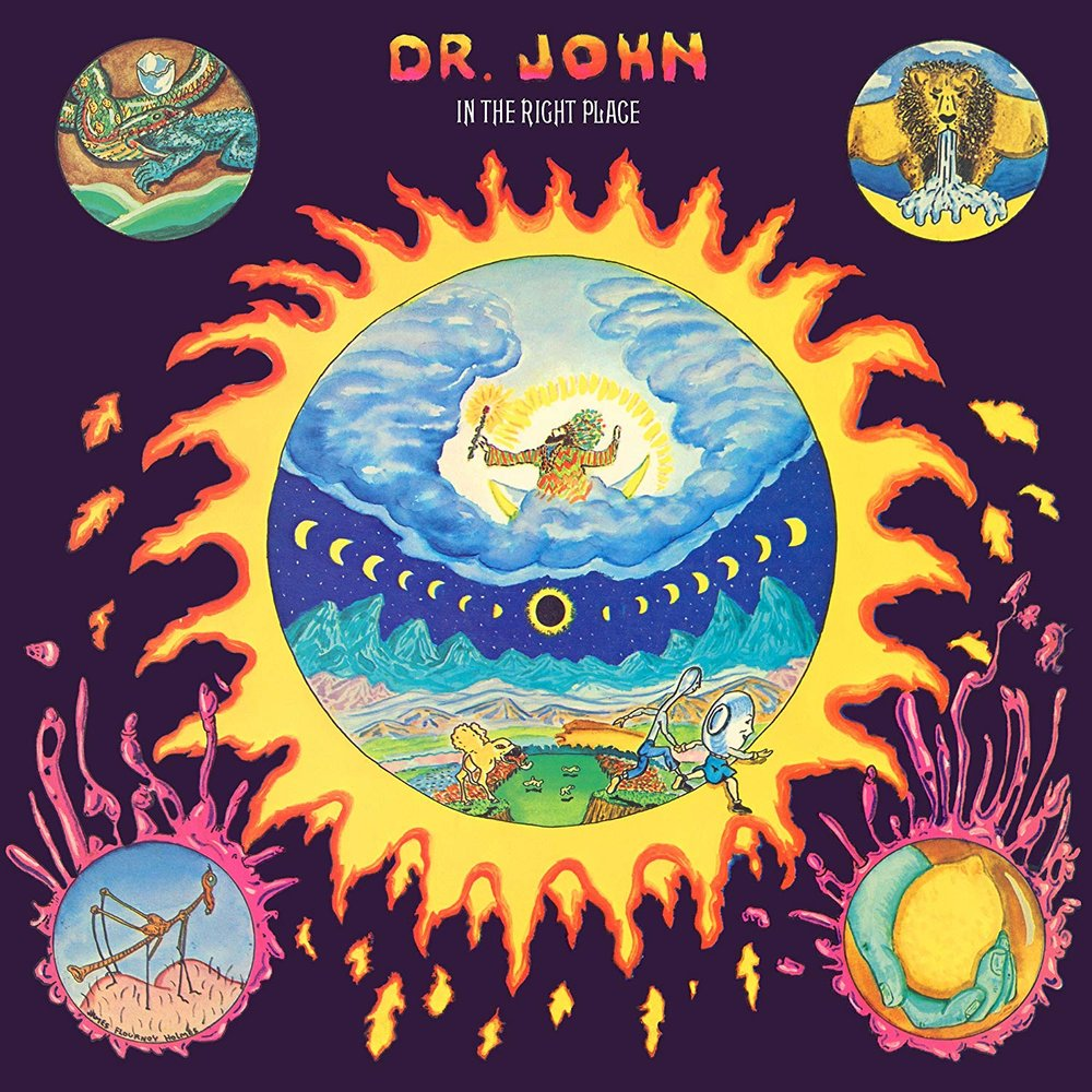 DR. JOHN   In the Right Place, 1973, Allen Toussaint, 33:22