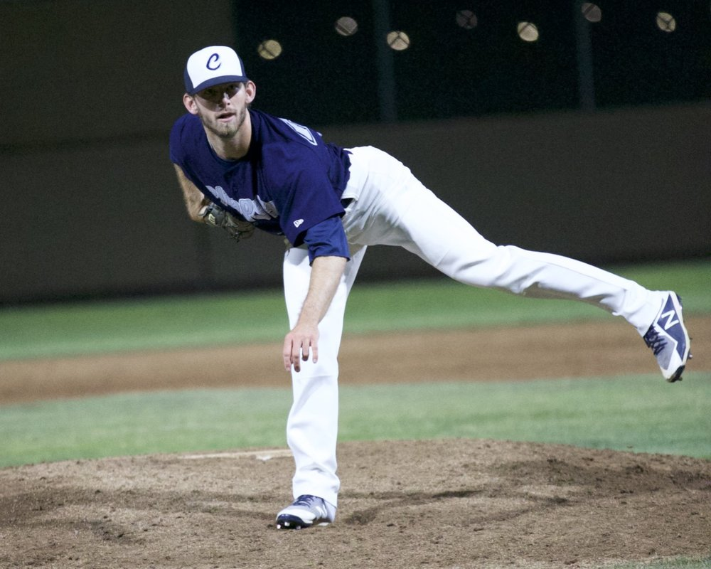 Jacob Hill comes on to get the save. Mark Fierner   Martinez News-Gazette