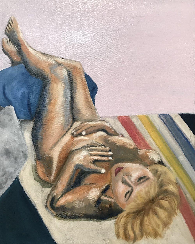 Penny Lorber woman 1 reclining