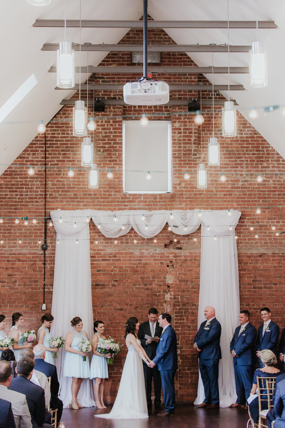 The Great Room at Top of the Hill Wedding - Jocelyn & Ryan Photography