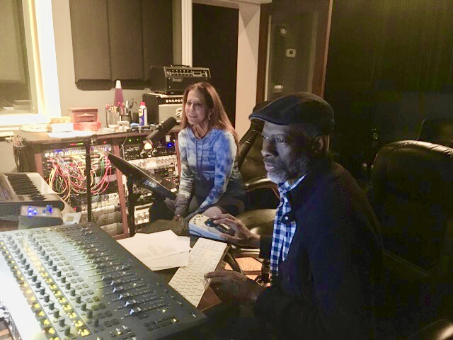 Rita Coolidge & Keb' Mo' in the writing session
