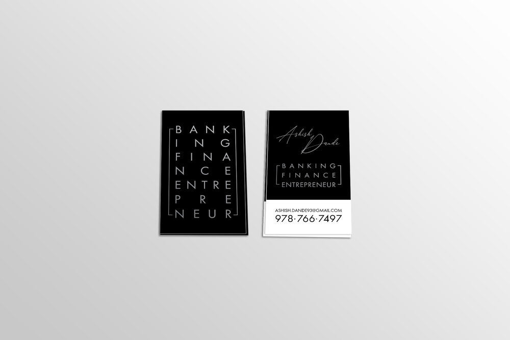 Ashish Dande Business Bio Cards
