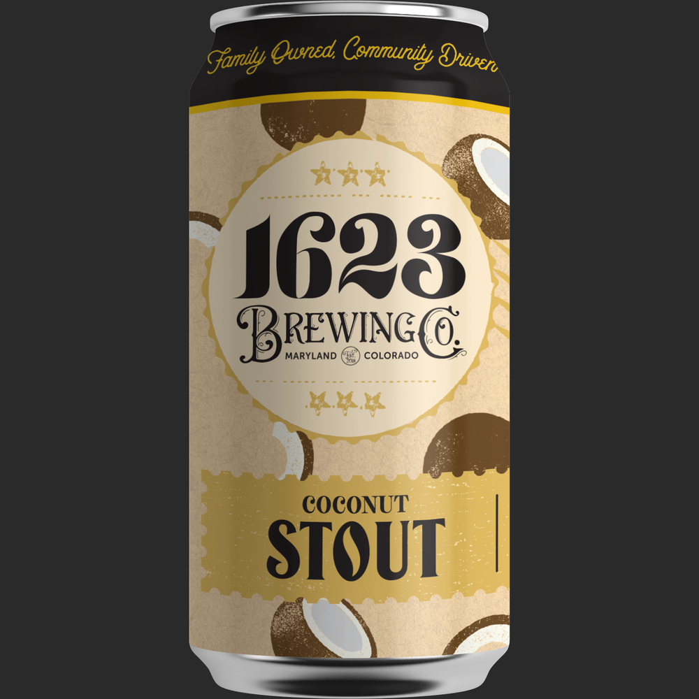 Coconut Stout - Dry Irish Stout5.75% ABV, 30 IBUAvailability: Seasonal 12 oz. 6-packs & DraftStout has met its match. We love coconut for its complexity— milk, toast, caramel and even subtle earthy notes from its meat. This beer has soft coconut aroma, creamy mouthfeel, and savory undertones that play well with notes of roasted coffee.