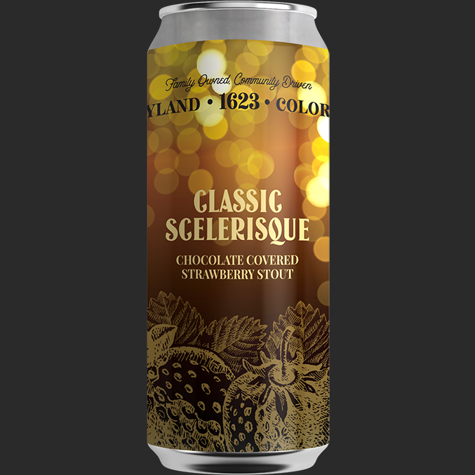 Classic Scelerisque - Chocolate Covered Strawberry Stout5.75% ABV, 30 IBUAvailability: Specialty 16 oz. 4-packs & DraftA classic romance story, told in the language of love. Latin for chocolate strawberry, Classic Scelerisque bursts with notes of fresh strawberries, dark chocolate, and subtle roast on the finish. Swoon. We use our Dry Irish Stout as a base for strawberries, which makes for the perfect love affair in this dessert beer. This one will keep you coming back for more.