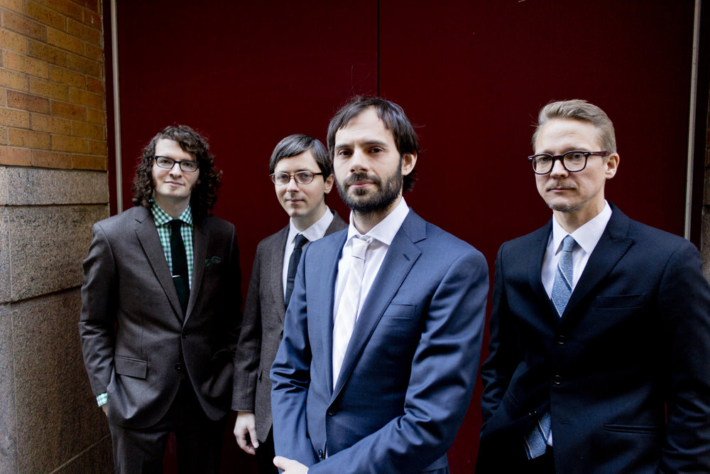 Dan Weiss Trio Plus 1 with Thomas Morgan, Eivind Opsvik, and Jacob Sacks
