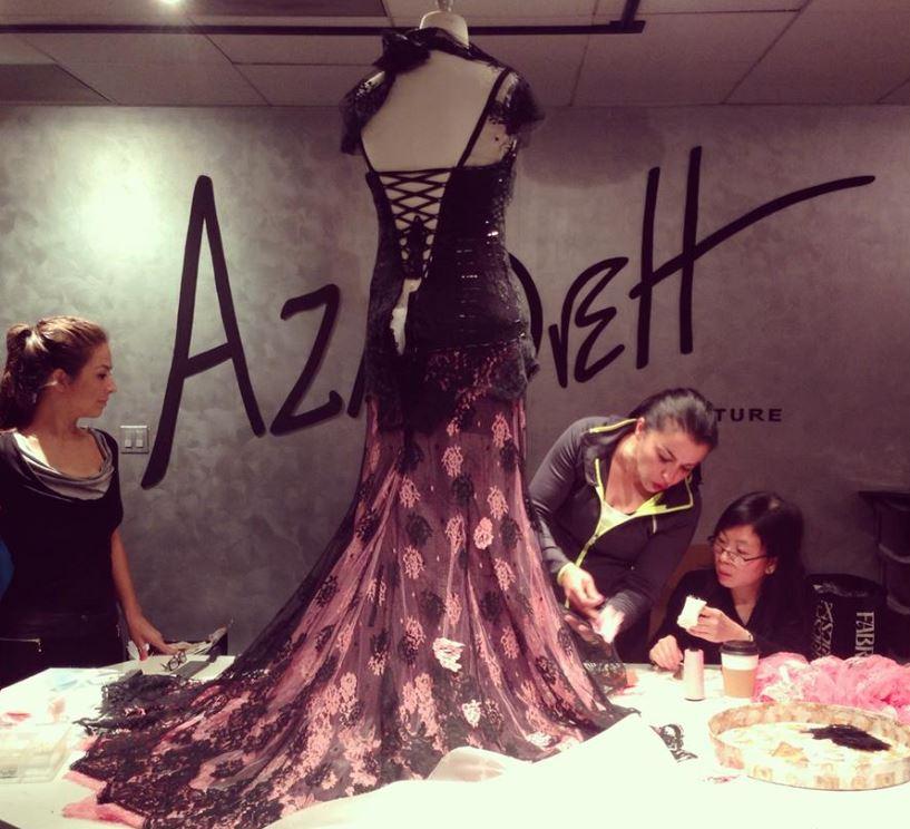 azadeh working 2.JPG
