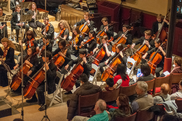 - For over two decades, Philadelphia Sinfonia has supported the artistic growth of young musicians in the Delaware Valley by providing high-level ensemble experience in a supportive educational environment.