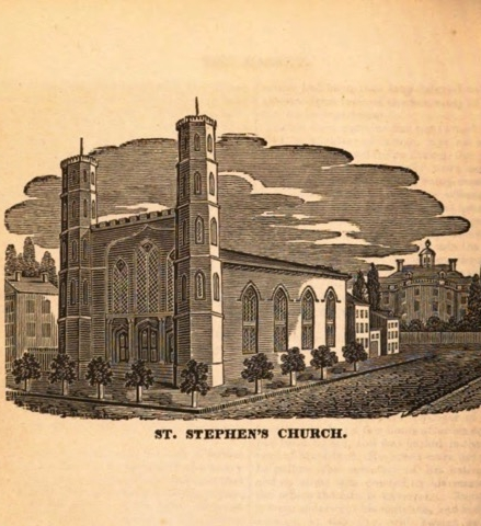 St. Stephen's in 1823