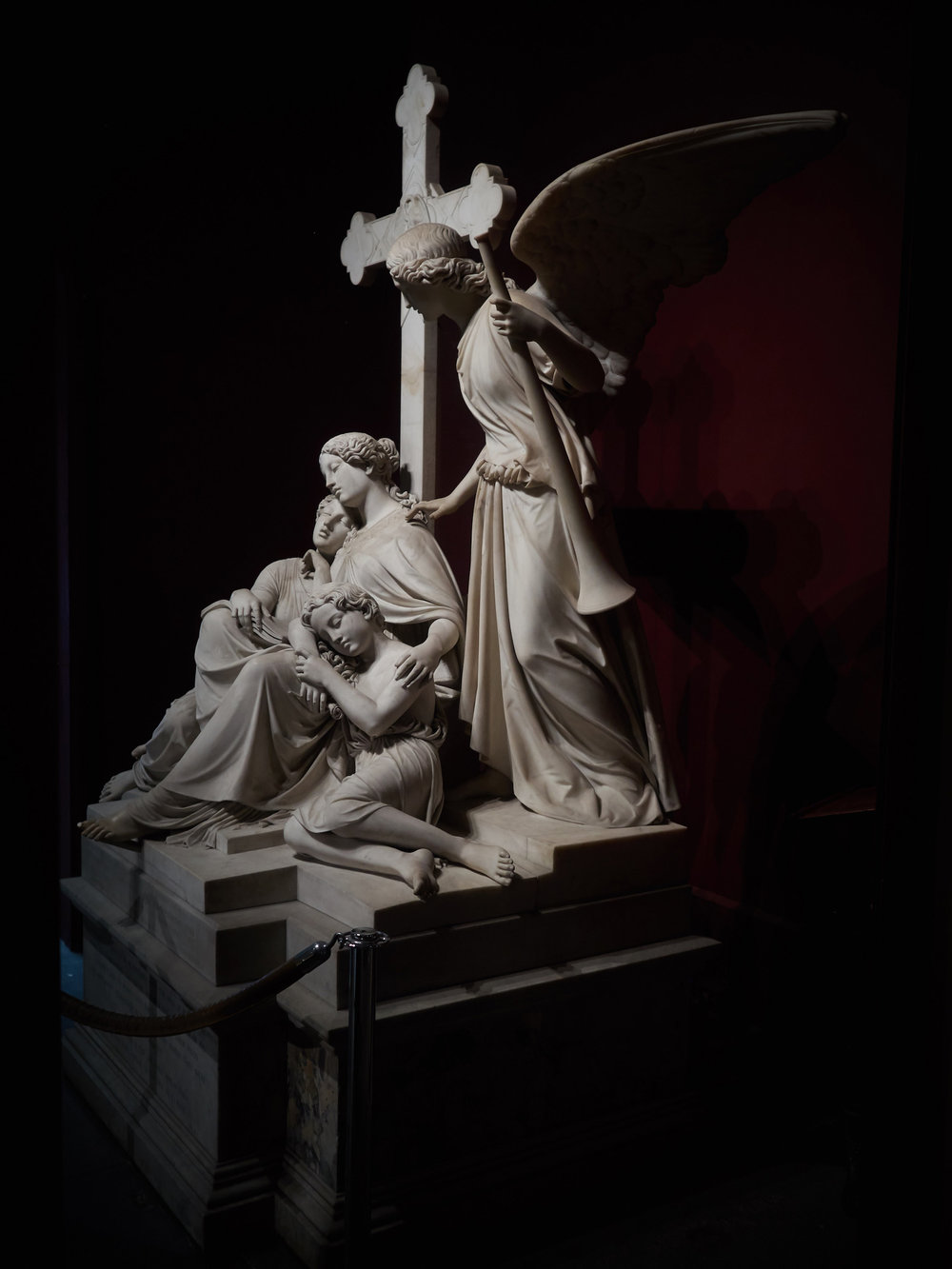 "Carl Steinhauser, Burd Children's Monument (""Angel of the Resurrection""), 1852"