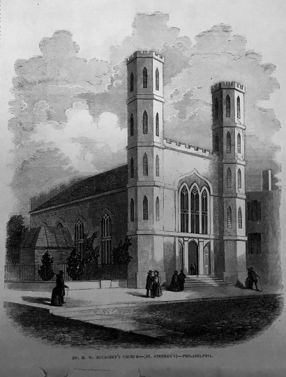 St. Stephen's in 1853