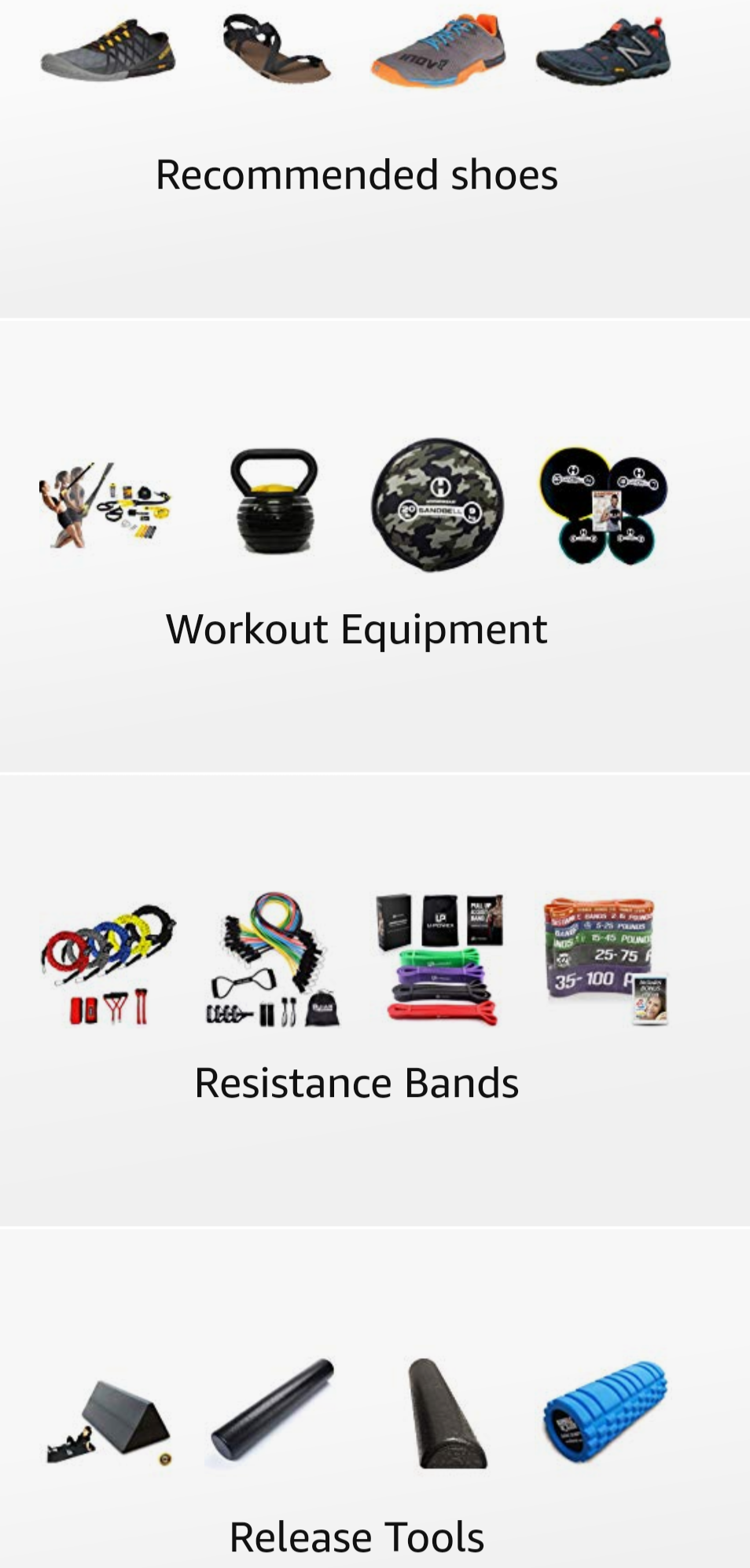 Recommended Equipment - Goodies you can take with you anywhere