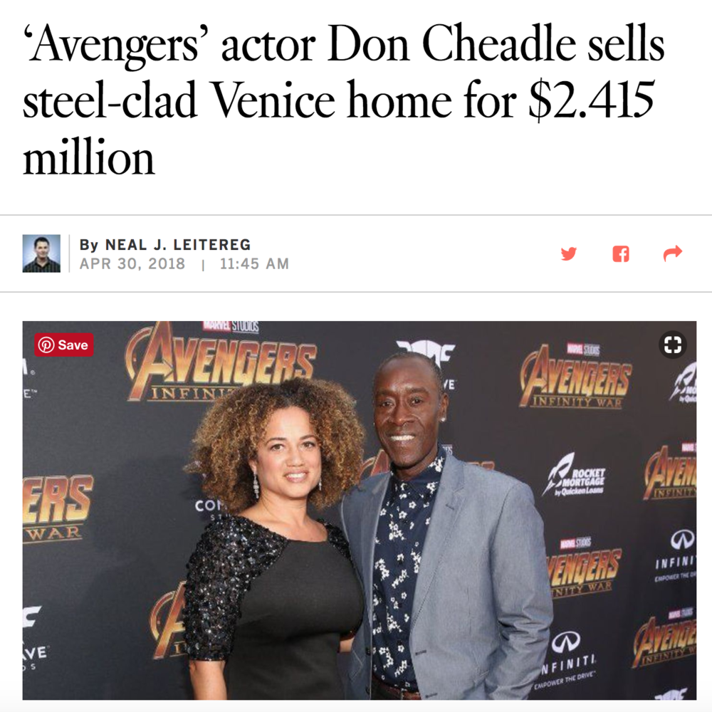 'Avengers' actor Don Cheadle sells steel-clad Venice home for 2.415 million | Venice CA Home for Sale.png