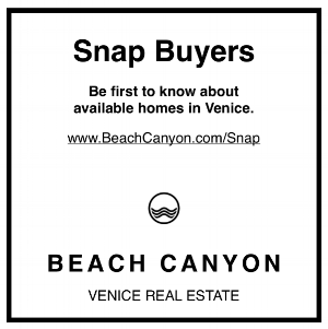Sell my home | Venice Ca | Venice Real Estate | Snap Buyers.png